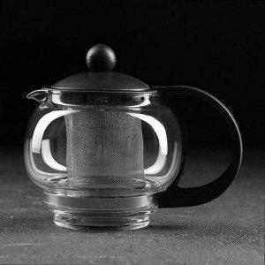 Чайник заварочный «Вдохновение», с металлическим ситом, 500 мл