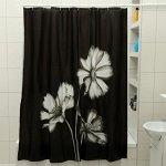 Штора для ванной комнаты Доляна «Герберы», 180?180 см, EVA