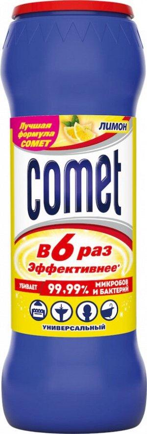 COMET Порошок чистящий с дезинфиц. свойствами Лимон с хлоринолом в банке 475г