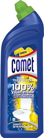 COMET Средство чистящее для туалета Лимон 700мл