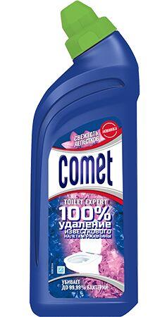 COMET Средство чистящее для туалета Свежесть Лепестков 450мл