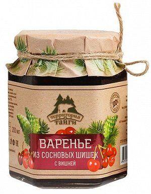 Варенье из сосновых шишек с вишней 200мл