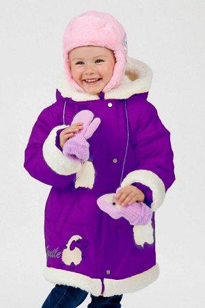 Пальто Lona 7101И фиолетовый