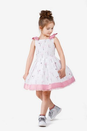Платье Bell Bimbo 181071 набивка/розовый