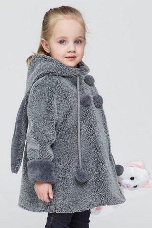 Пальто Зима Фэшн 03SD-11-12 серый_под_овчинку