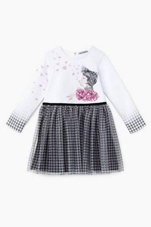 Платье Bell Bimbo 202022 белый/черный