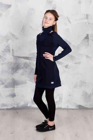 Платье GuliGuli П-62д синий