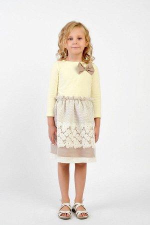 Платье GuliGuli П-45 молоко
