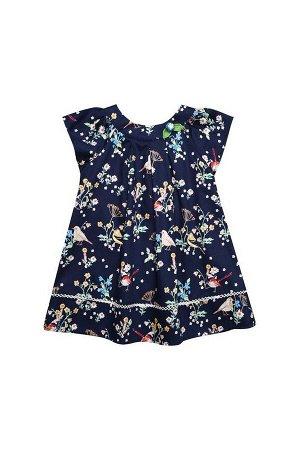 Платье Bell Bimbo 181304 набивка/т.синий