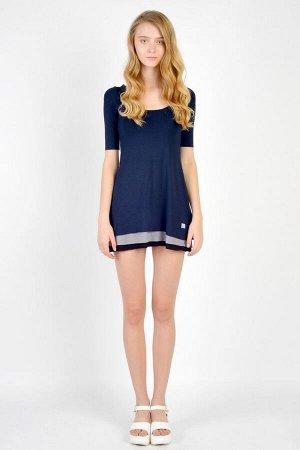 Платье GuliGuli П-12д синий