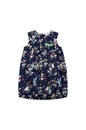 Платье Bell Bimbo 181305 набивка/т.синий
