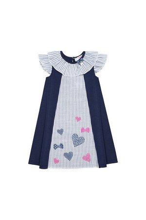 Платье Bell Bimbo 180349 т.синий