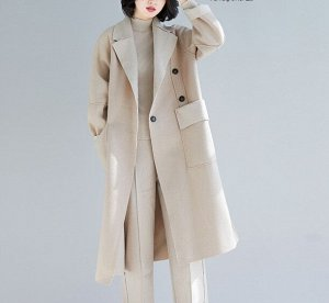 Пальто, светло-бежевый
