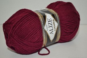 Пряжа для вязания Alize Lanagold Ализе Ланаголд цвет 57