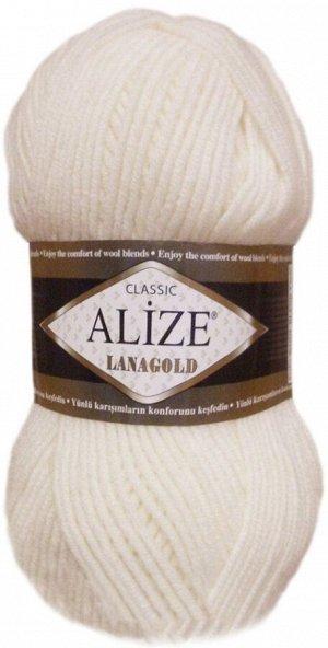 Пряжа для вязания Alize Lanagold Ализе Ланаголд цвет 450