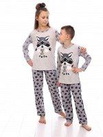 Пижама детская, серый