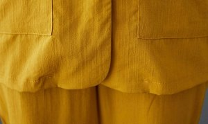 Костюм,желтый