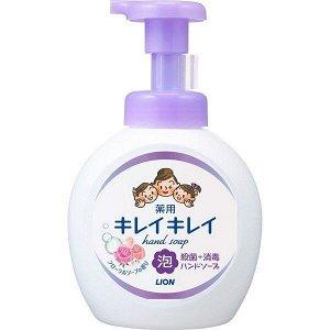 "Мыло-пенка для рук ""KireiKirei"" с цветочным ароматом (помпа) 500 мл"