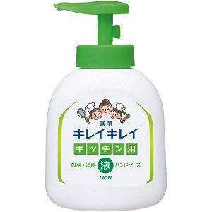 """Кухонное мыло для рук """"KireiKirei"""" с антибактериальным эффектом и маслом апельсина (помпа) 250 мл"""