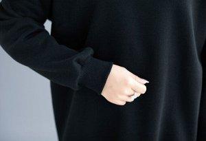 Толстовка Ткань: полиэстер, хлопок длина 80 см, грудь 120 см, плечи/рукав 71 см