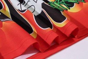 Футболка унисекс, принты и надписи, цвет черный