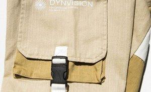 Брюки-джоггеры унисекс, нашивной карман сбоку, цвет бежевый/коричневый/белый