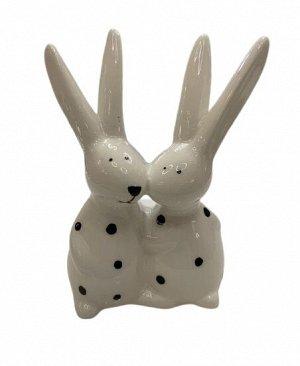 Декор 1020030 Кролики Neddy H11cm доломит