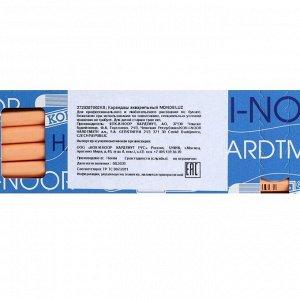 Карандаш акварельный Koh-I-Noor Mondeluz 3720/009, оранжевый абрикос, 175 мм, грифель 3.8 мм, ЦЕНА ЗА 1 ШТ