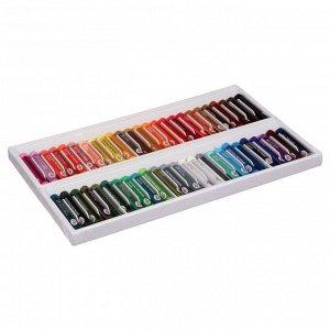 """Пастель масляная, набор 50 цветов, Гамма """"Студия"""", d-8мм, l-65мм, в картонной коробке"""