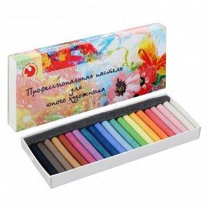 Пастель сухая художественная, 20 цветов, Medium, «Подольские товары для художников», «Для юного художника»