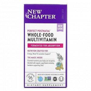 New Chapter, Мультивитамины после беременности, 96 таблеток