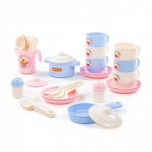 Набор детской посуды Хозяюшка на 6 персон (V5) (38 элементов) (в сеточке)10