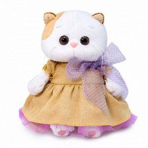 Мягкая игрушка BUDI BASA Кошка BABY Ли-Ли BABY в золотом платье 20 см5