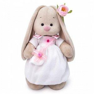 Мягкая игрушка BUDI BASA Зайка Ми в платье с сумочкой (малый) 25 см11