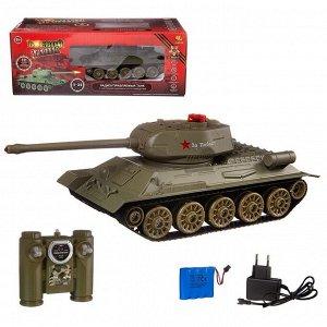 Радиоуправляемый танк Т-34 (на аккум., свет, звук)739