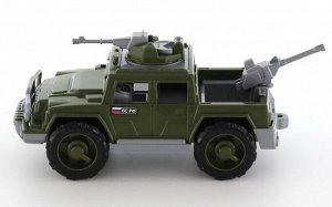 Автомобиль военный пикап Защитник с 2-мя пулемётами44