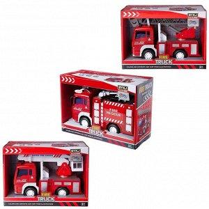 Машинка Junfa Пожарная, 3 вида в ассортименте, размер коробки 24х10,5х17см525