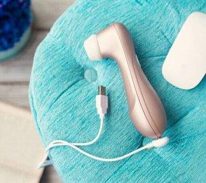 Вакуум-волновой бесконтактный стимулятор клитора Satisfyer PRO 2 NG, силикон+ABS пластик, розовый
