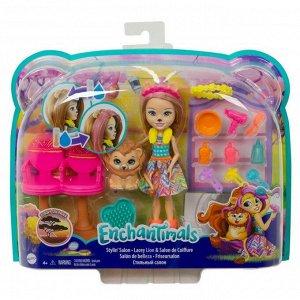 Игровой набор Mattel Enchantimals кукла+питомец с аксессуарами 4 вида31