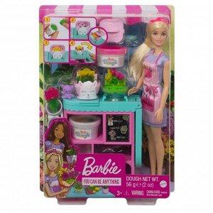 Игровой набор Mattel Barbie Флорист с цветочным магазином7