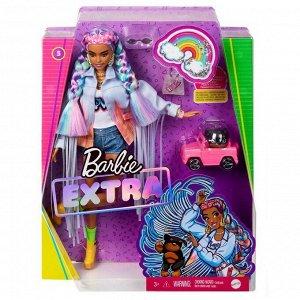 Кукла Mattel Barbie Экстра с радужными косичками27
