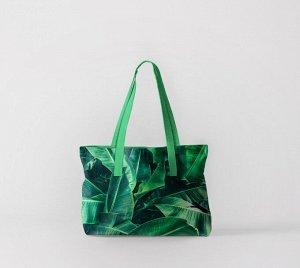 Пляжная сумка Банановые листья (50х40 см)