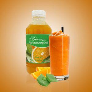 Апельсин-Алое - Фруктовая база для приготовления напитков, соков, смузи