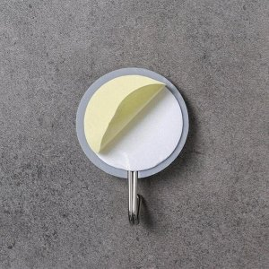 Набор крючков на липучке Доляна «Знаки», 4 шт, цвет МИКС
