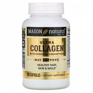 Mason Natural, Ультра коллагеновая формула для красоты, 100 капсул