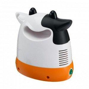 Ингалятор (небулайзер) CN-HT05 «Корова», компрессорный, 2-12 мл, 60 дБ, чёрно-белый