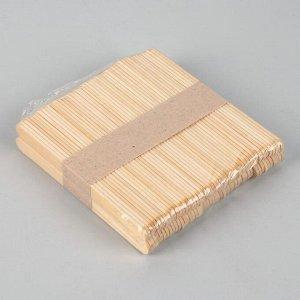Шпатель для депиляции, деревянный, 11,4 ? 1 см