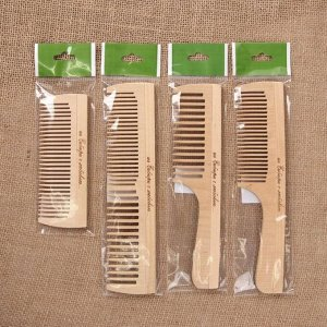 Расчёска деревянная, МИКС форм