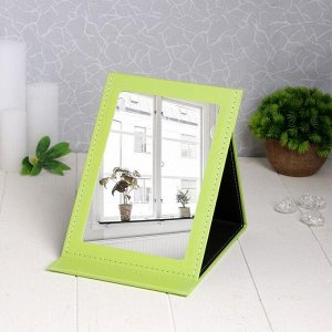 Зеркало настольное, зеркальная поверхность 12,5 ? 18,5 см, цвет МИКС