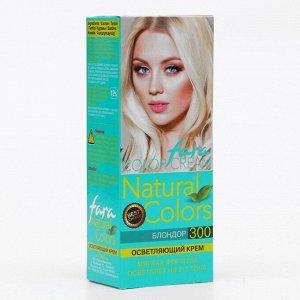 Краска для волос Fara Natural Colors, тон 300, блондор, 160 г